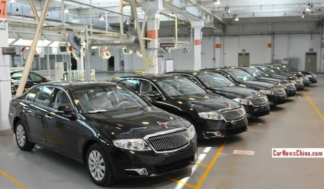 FAW delivers eight Hongqi H7 sedans to the Chinese army