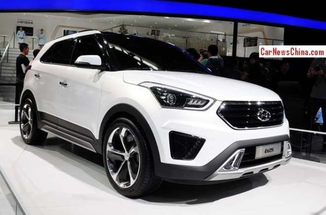 Hyundai ix25 will hit the Chinese car market in October