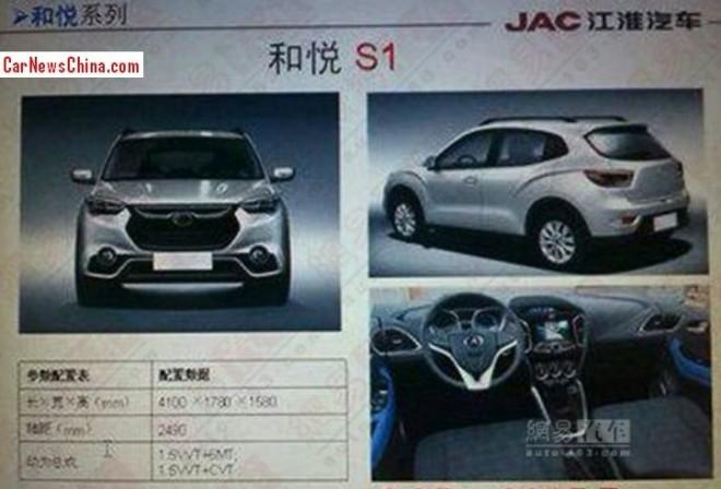 Spy Shots: JAC planning new compact SUV
