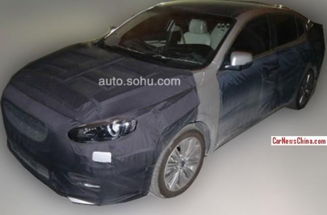 Spy Shots: Kia K4 sedan seen testing in China