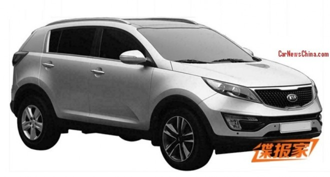 Patent Applied: 2015 Kia Sportage pops up in China