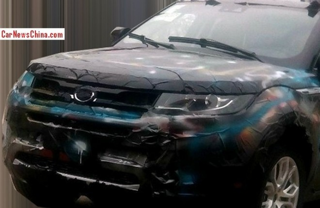 Spy Shots: Landwind E32 'Evoque' testing in China