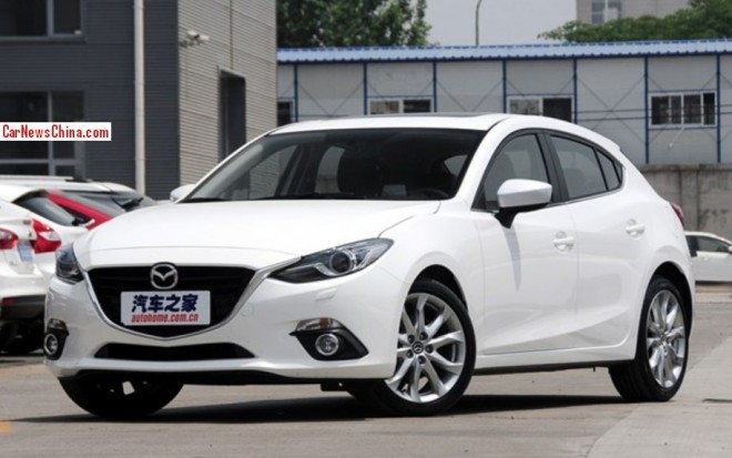 Mazda 3 Axela hits the Chinese auto market