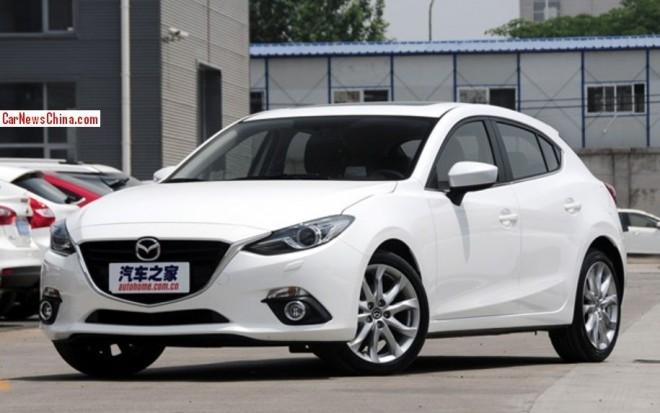 Mazda 3 Axela hits the Chinese auto market