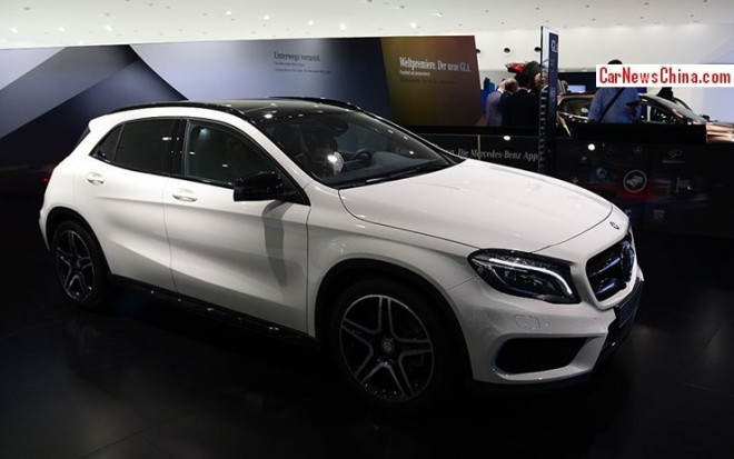 Mercedes-Benz GLA will be made in China from 2015