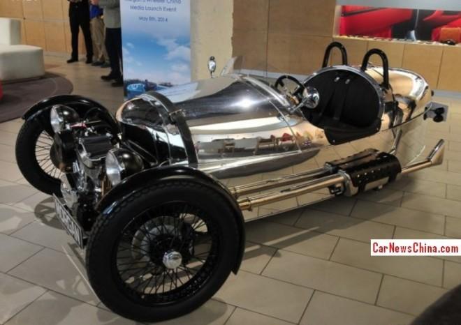 Morgan 3 Wheeler hits the China car market