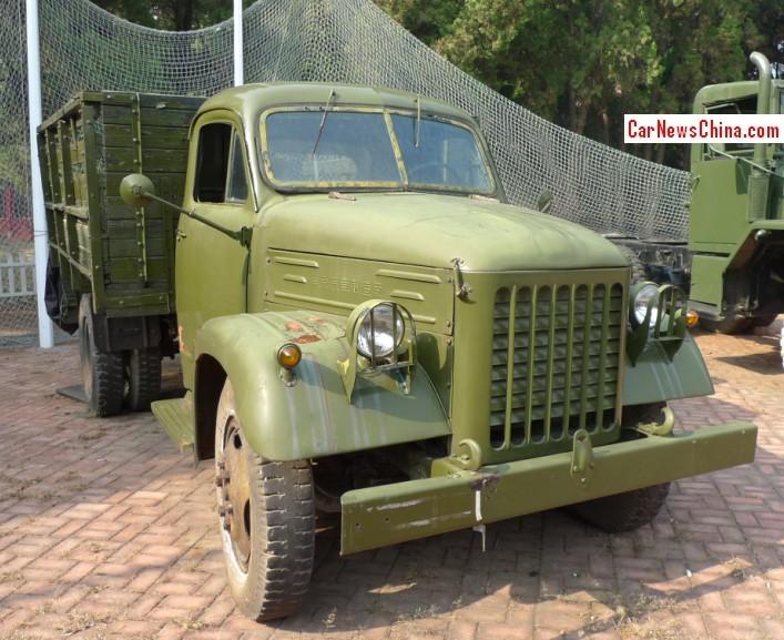China Car History: The Nanjing NJ230 Truck At The Dalian