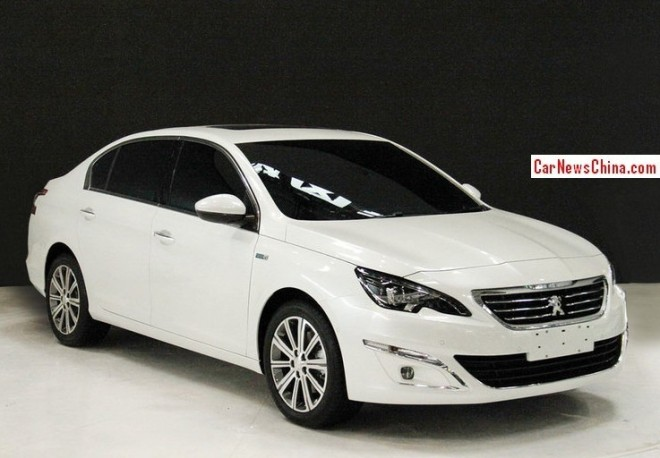New Peugeot 408 sedan will hit the China car market in August