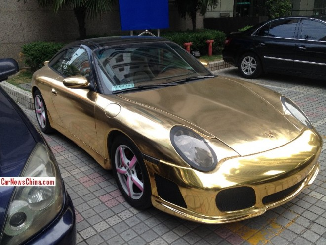 Porsche 911 Targa is Gold in China