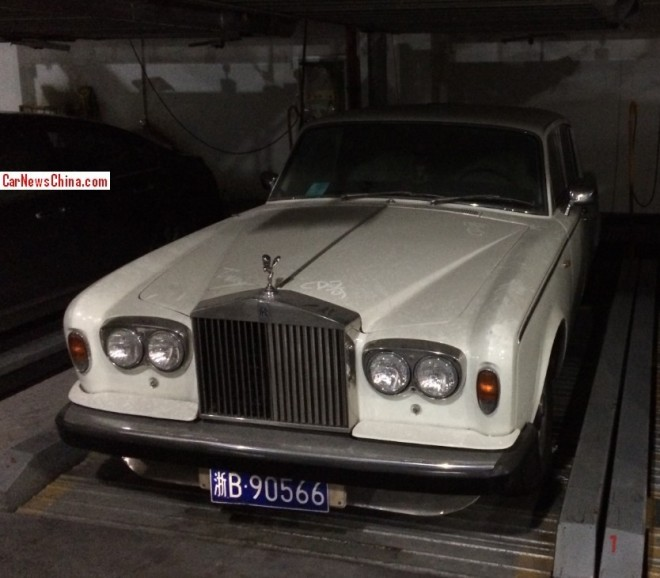 Spotted in China: Rolls-Royce Silver Shadow II is Dusty in Ningbo