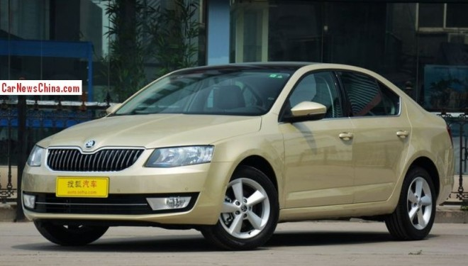 New Skoda Octavia hits the China car market
