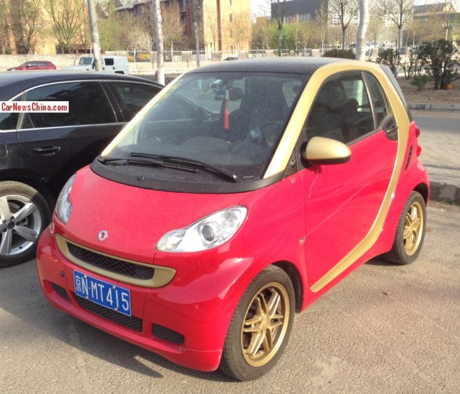 Spotted in China: Smart FourTwo Brabus Dragon Edition