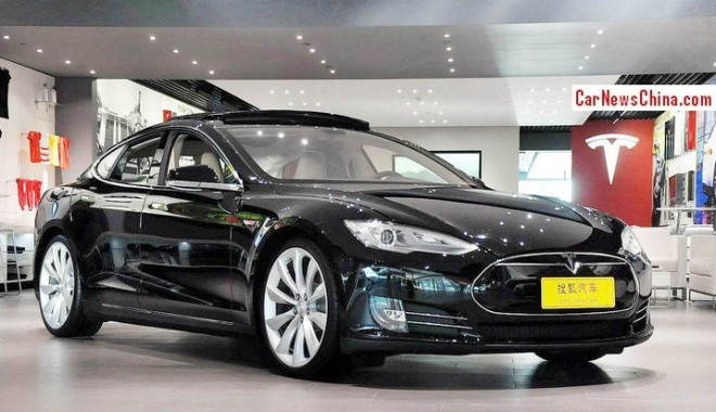 Tesla Model S 60 launched on the Beijing and Shanghai car markets