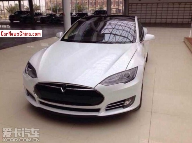 First grey-import Tesla Model S arrives in China