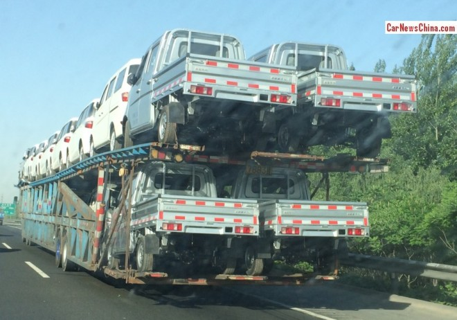 The most Bizarre Car Transport in China, ever
