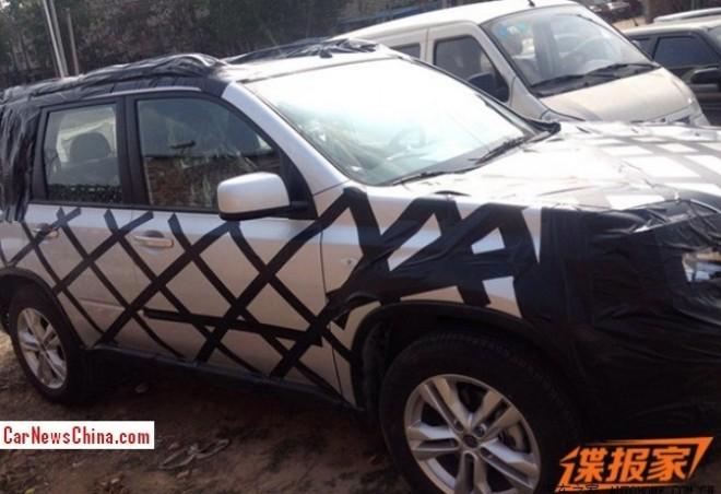 Spy Shots: Venucia SUV testing in China
