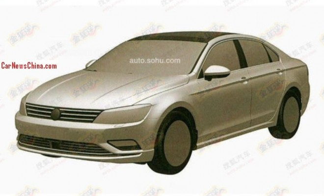 Patent Applied: production version of the Volkswagen NMC pops up in China