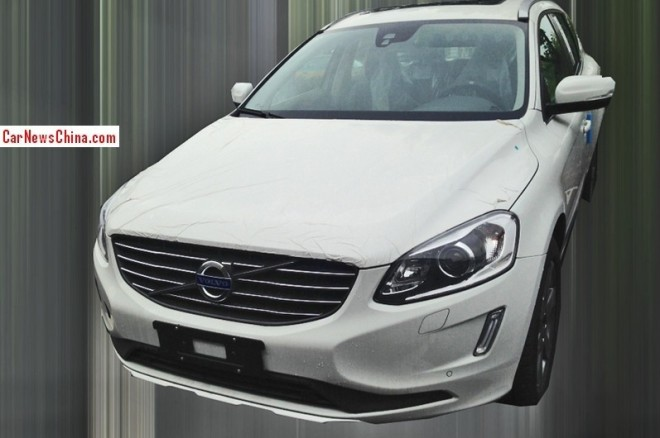 Spy Shots: China-made Volvo XC60 is getting Ready for the Chinese auto market