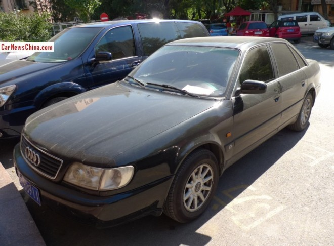 Spotted in China: Audi 100 C4 sedan