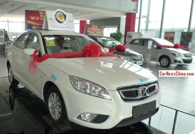 Visit to the Beijing Auto dealer in Beijing, China