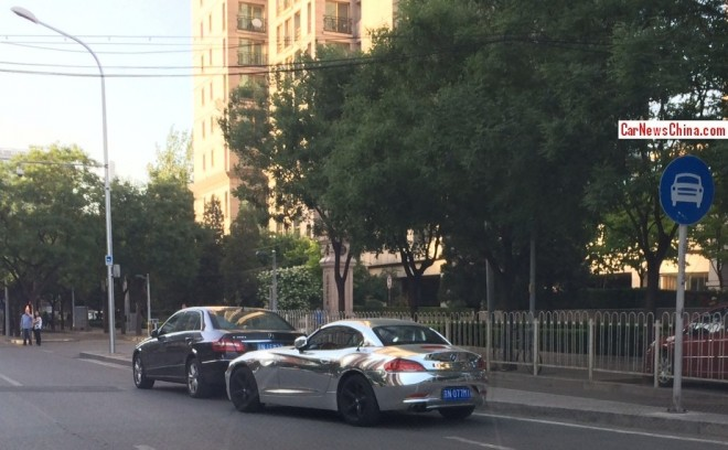BMW Z4 is Bling in China