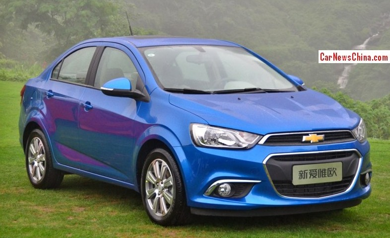 This Is The New Chevrolet Aveo For The Chinese Car Market