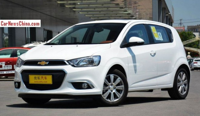 New Chevrolet Aveo hits the Chinese car market