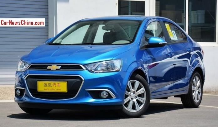 New Chevrolet Aveo Hits The Chinese Car Market Carnewschina