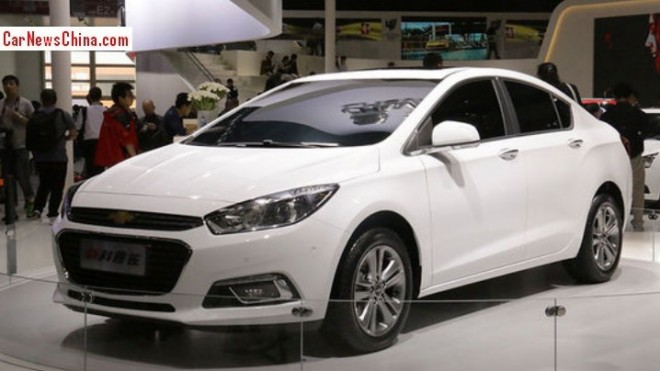 Chinese Chevrolet Cruze will hit the Chinese car market in July