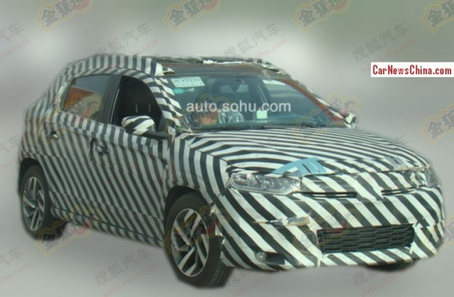 Spy Shots: Citroen CX-R seen testing in China