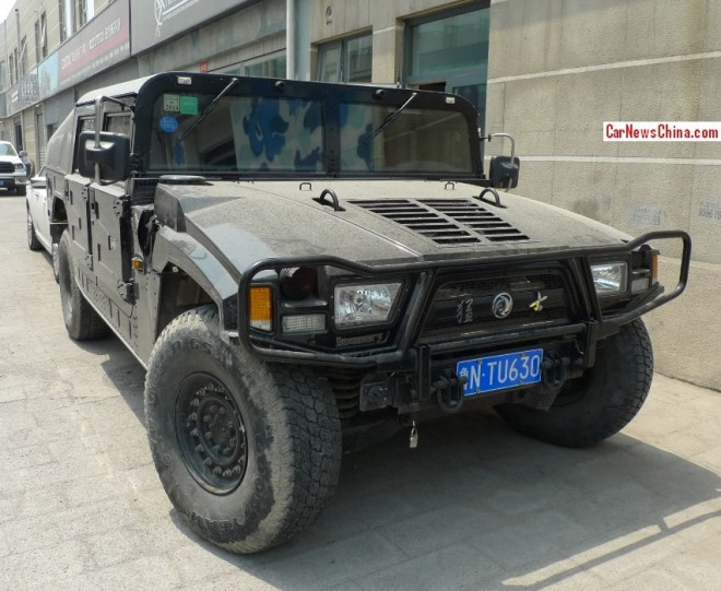 Dongfeng EQ2050 is Bad & Beautiful in Black