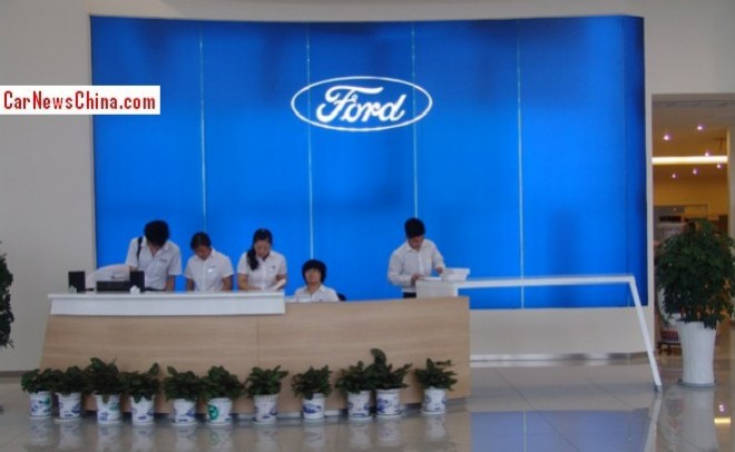 Ford sales in China up 32%