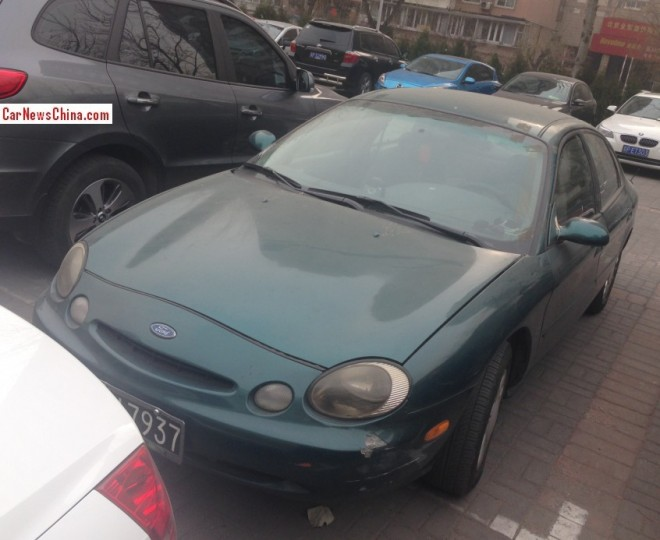 Spotted in China: third generation Ford Taurus in Green