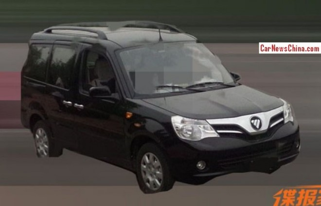 Spy Shots: facelift for the Foton Midi in China