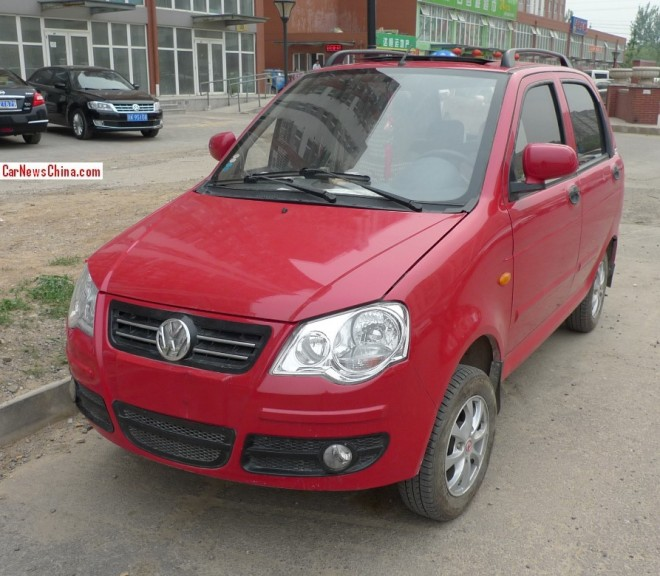 This is Not a Volkswagen Polo in China