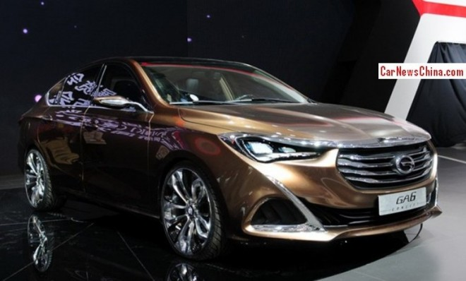 Guangzhou Auto Trumpchi GA6 will hit the Chinese auto market in December