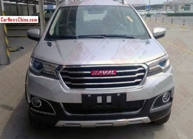 Spy Shots: Haval H1 SUV seen testing in China