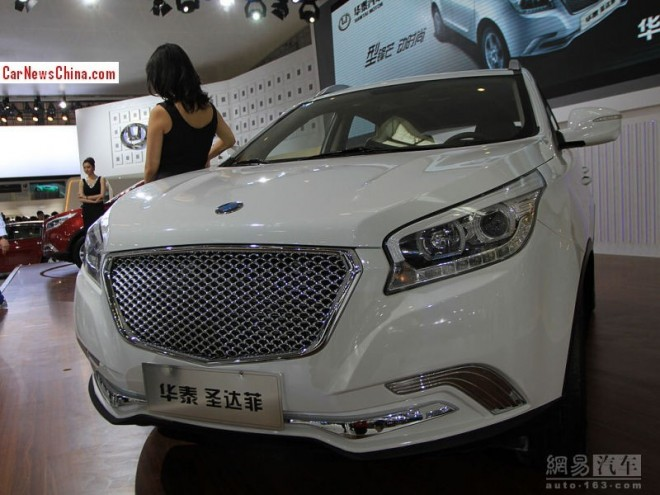 Hawtai Shengdafei SUV will hit the China car market in September