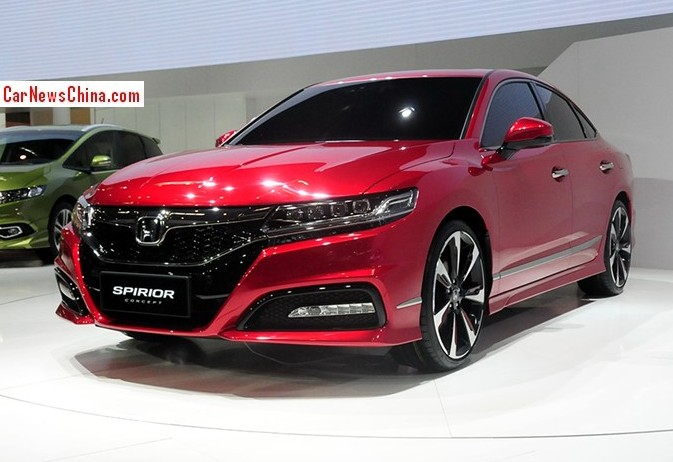 Superior New Honda Spirior Will Be Launched On The Chinese Auto Market In Q4 Photo