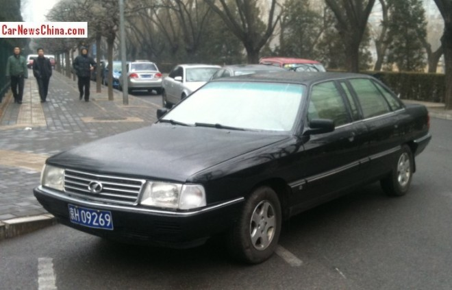 Spotted in China: the Hongqi CA 7180 A2EL1 stretched limousine