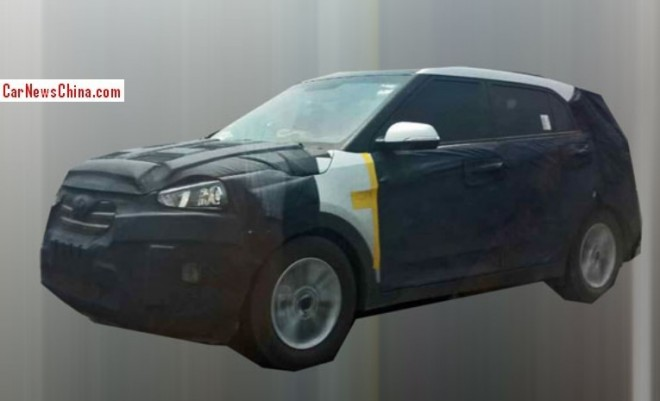 Spy Shots: Hyundai ix25 is still testing in China