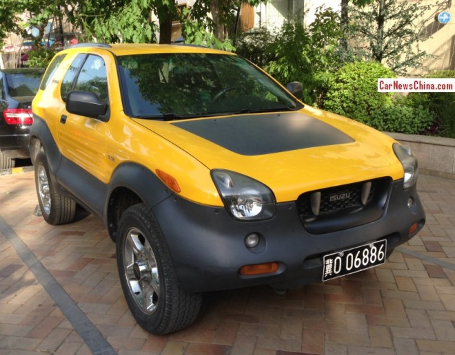 Spotted in China: Isuzu VehiCROSS