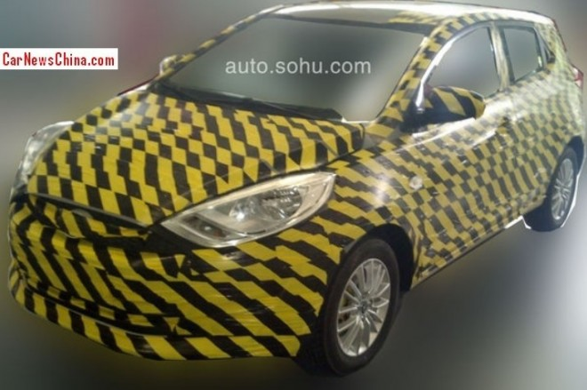 Spy Shots: new JAC compact SUV testing in China