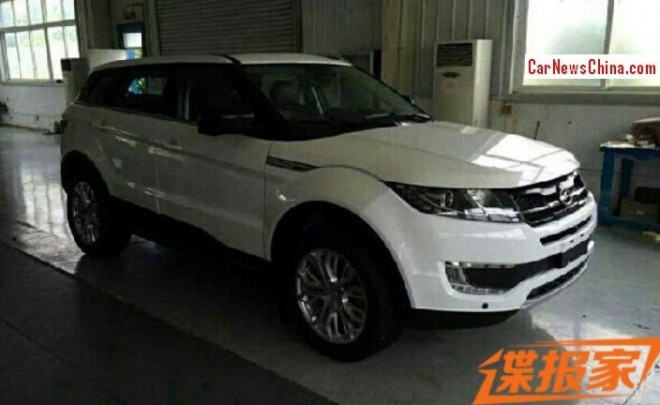This is the Landwind E32, China's copy of the Range Rover Evoque