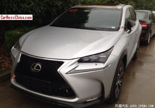 Spy Shots: Lexus NX SUV is Ready for the Chinese car market