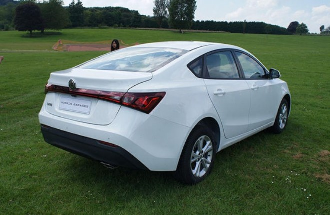 Spy Shots: MG5 GT is Naked in... England