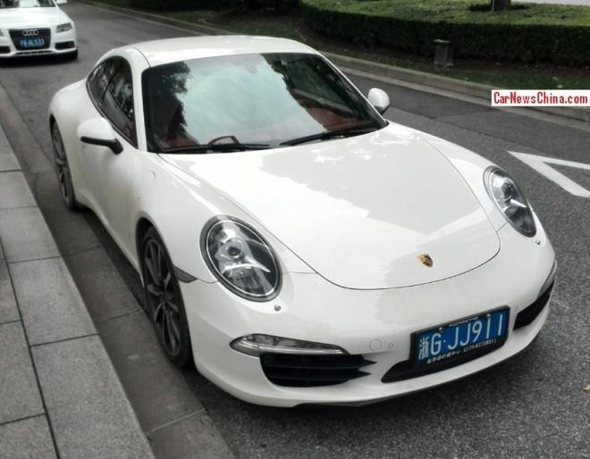 Porsche 911 with Licenses in Shanghai & Beijing