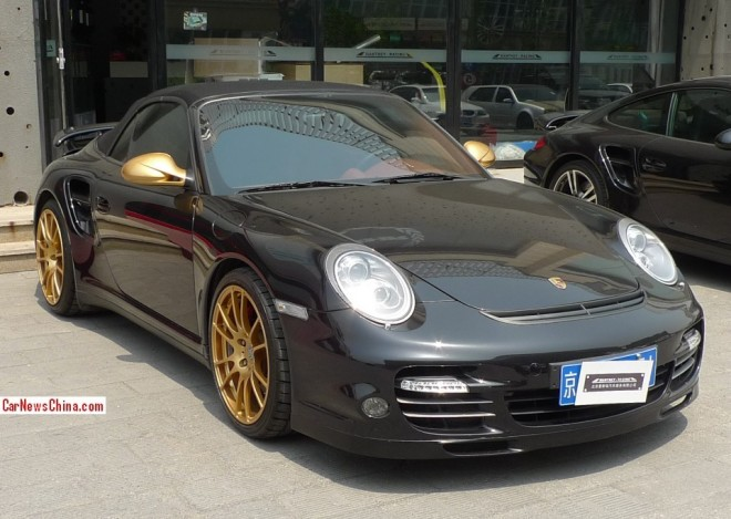 On the Double: Manthey Porsche 911 Turbo in China