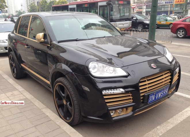 Spotted in China: Porsche Cayenne Techart Magnum