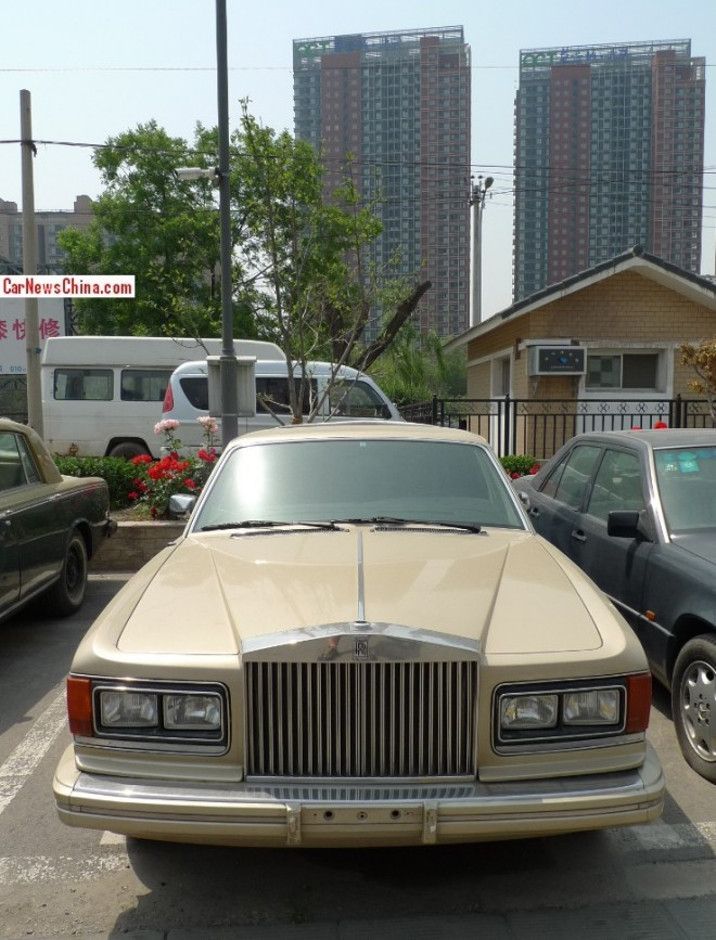 Spotted in China: Rolls-Royce Silver Spirit Mark 1